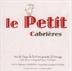 """Vin de Pays de La Principaute d'Orange """"Le Petit Cabrières"""" 2016"""